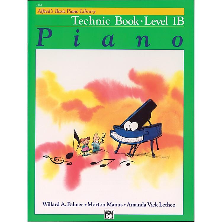 AlfredAlfred's Basic Piano Course Technic Book 1B