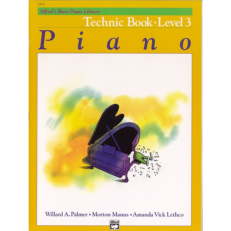Alfred Alfred's Basic Piano Course Technique Book 3