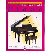 Alfred Alfred's Basic Piano Course Technique Book 4