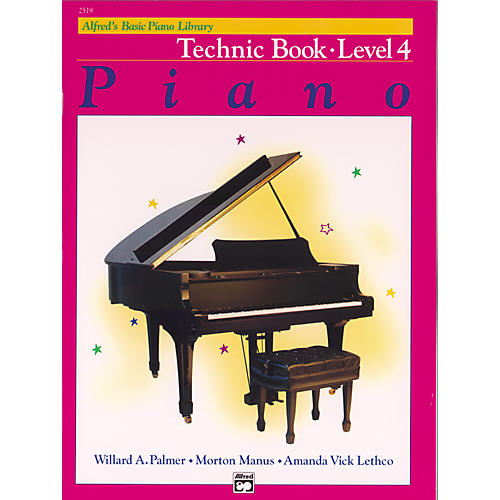 Alfred Alfred's Basic Piano Course Technique Book 4