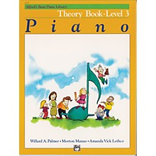 Alfred Alfred's Basic Piano Course Theory Book 3