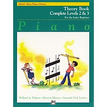 Alfred Alfred's Basic Piano Course Theory Book Complete 2 & 3