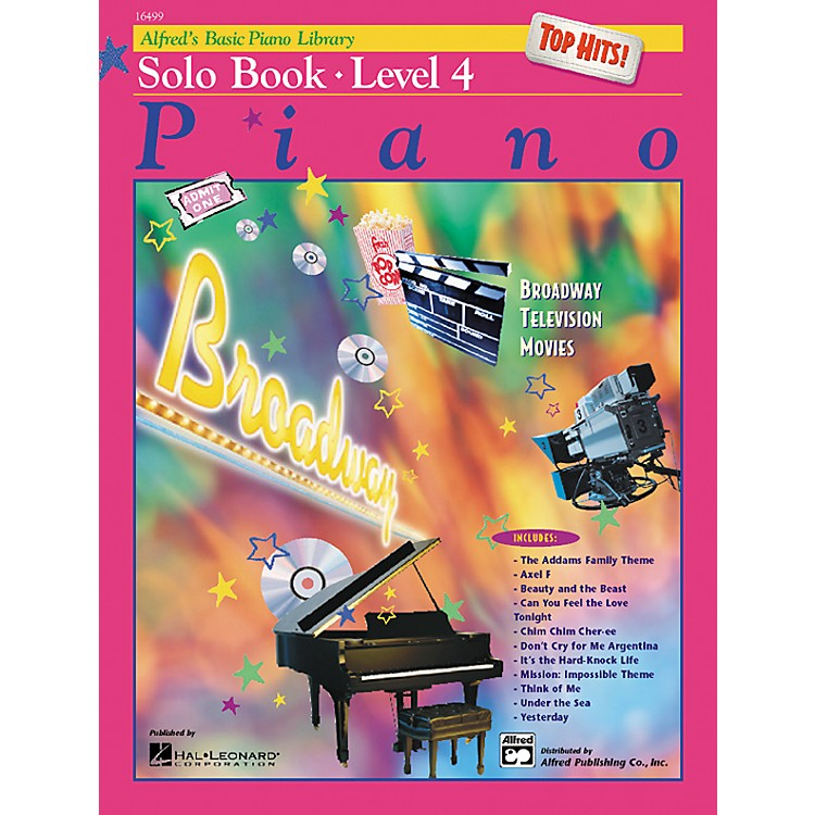 AlfredAlfred's Basic Piano Course Top Hits! Solo Book 4