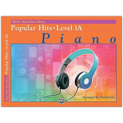 Alfred Alfred's Basic Piano Library: Popular Hits, Level 1A-thumbnail