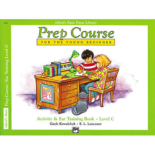 Alfred Alfred's Basic Piano Prep Course Activity & Ear Training Book C-thumbnail