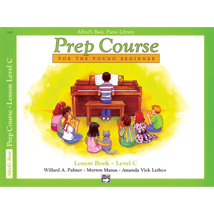 Alfred Alfred's Basic Piano Prep Course Lesson Book C