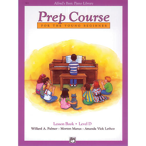 Alfred Alfred's Basic Piano Prep Course Lesson Book D-thumbnail