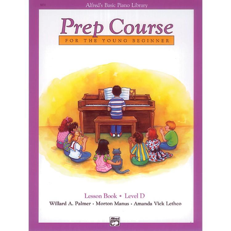 AlfredAlfred's Basic Piano Prep Course Lesson Book D