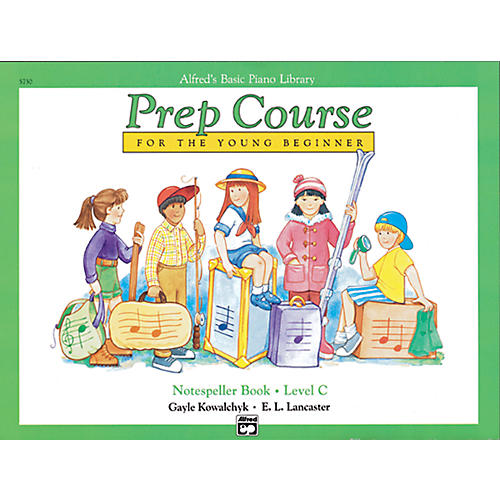 Alfred Alfred's Basic Piano Prep Course Notespeller Book C