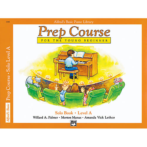 Alfred Alfred's Basic Piano Prep Course Solo Book A