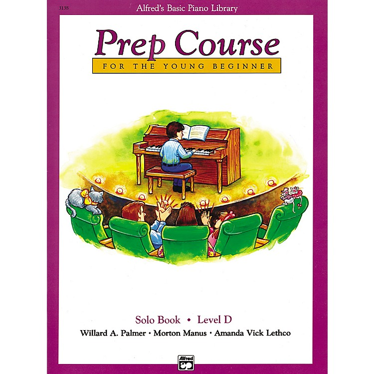 Alfred Alfred's Basic Piano Prep Course Solo Book D