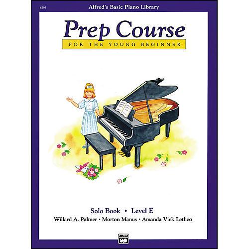 Alfred Alfred's Basic Piano Prep Course Solo Book E-thumbnail
