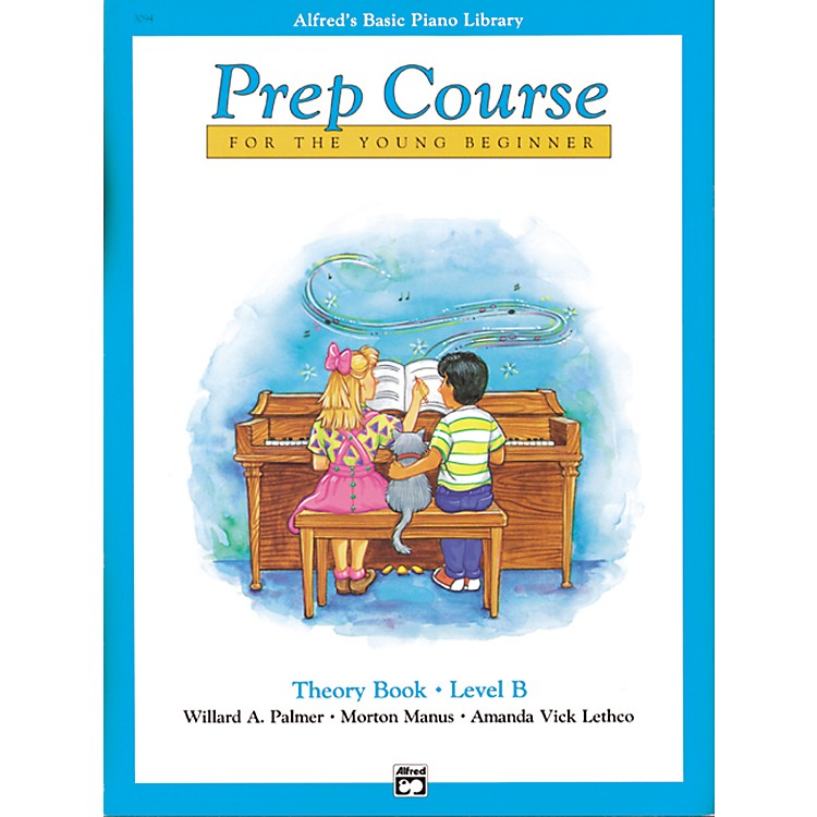Alfred Alfred's Basic Piano Prep Course Theory Book B