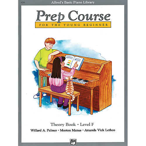 Alfred Alfred's Basic Piano Prep Course Theory Book F-thumbnail
