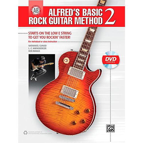 Alfred Alfred's Basic Rock Guitar Method 2 Book & DVD