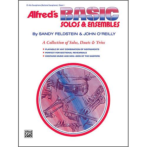 Alfred Alfred's Basic Solos and Ensembles Book 1 Alto Sax Baritone Sax