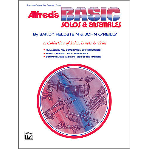 Alfred Alfred's Basic Solos and Ensembles Book 1 Trombone Baritone B.C. Bassoon-thumbnail