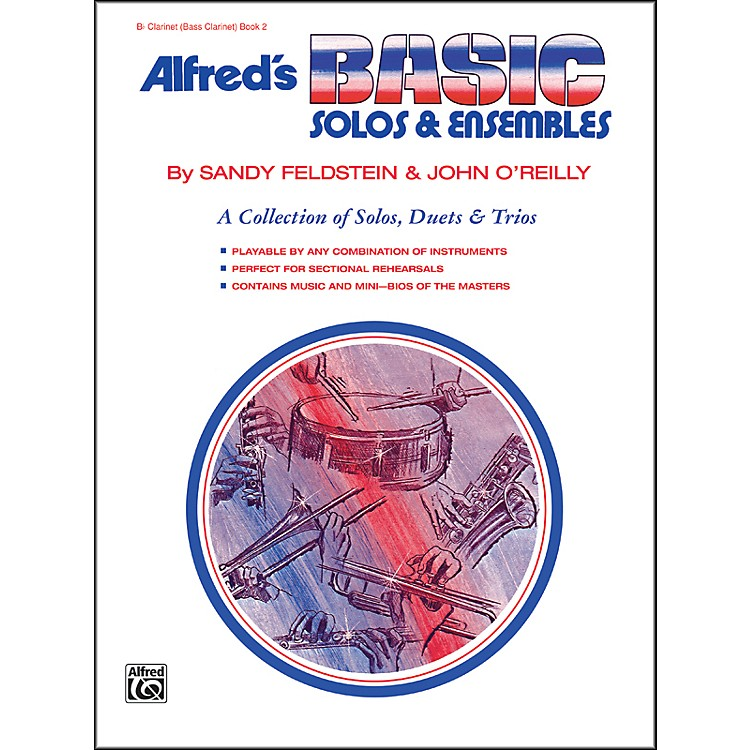Alfred Alfred's Basic Solos and Ensembles Book 2 Clarinet (Bass Clarinet)