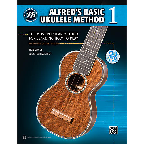 Alfred Alfred's Basic Ukulele Method Book/CD