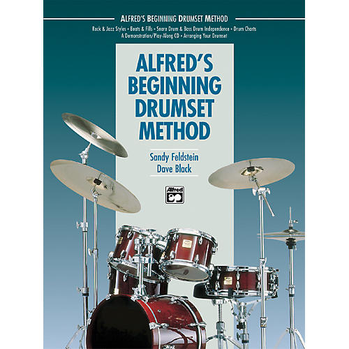 Alfred Alfred's Beginning Drumset Method Book-thumbnail