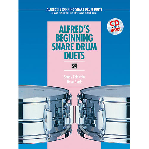 Alfred Alfred's Beginning Snare Drum Duets Book & CD