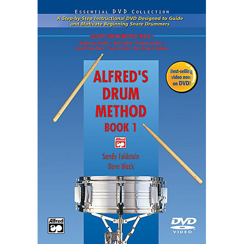 Alfred Alfred's Drum Method Book 1 DVD-thumbnail