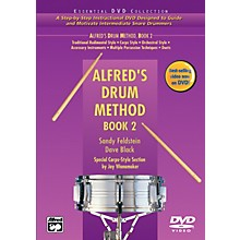 Alfred Alfred's Drum Method Book 2 Book & DVD in Hard Case
