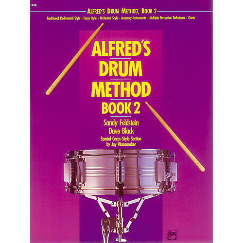 Alfred Alfred's Drum Method Book 2