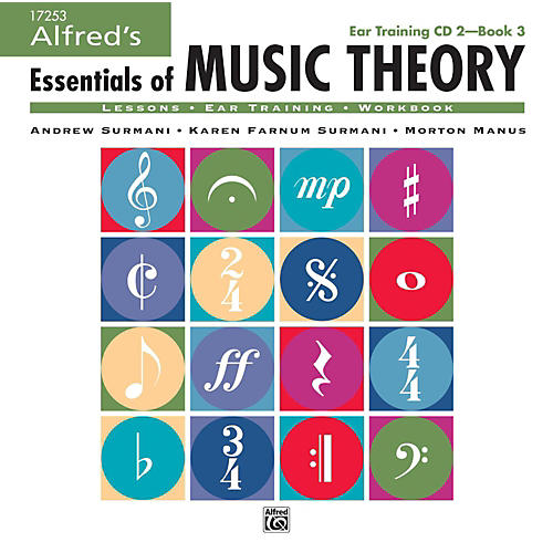 Alfred Alfred's Essentials of Music Theory: Ear Training CD 2 for Book 3-thumbnail