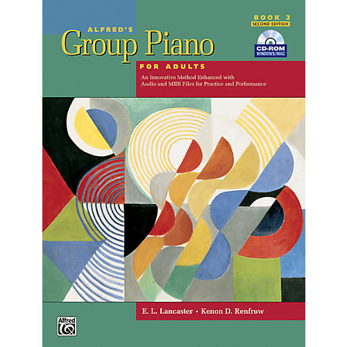 Alfred Alfred's Group Piano for Adults Student Book 2 (2nd Edition) Book 2 with CD-ROM