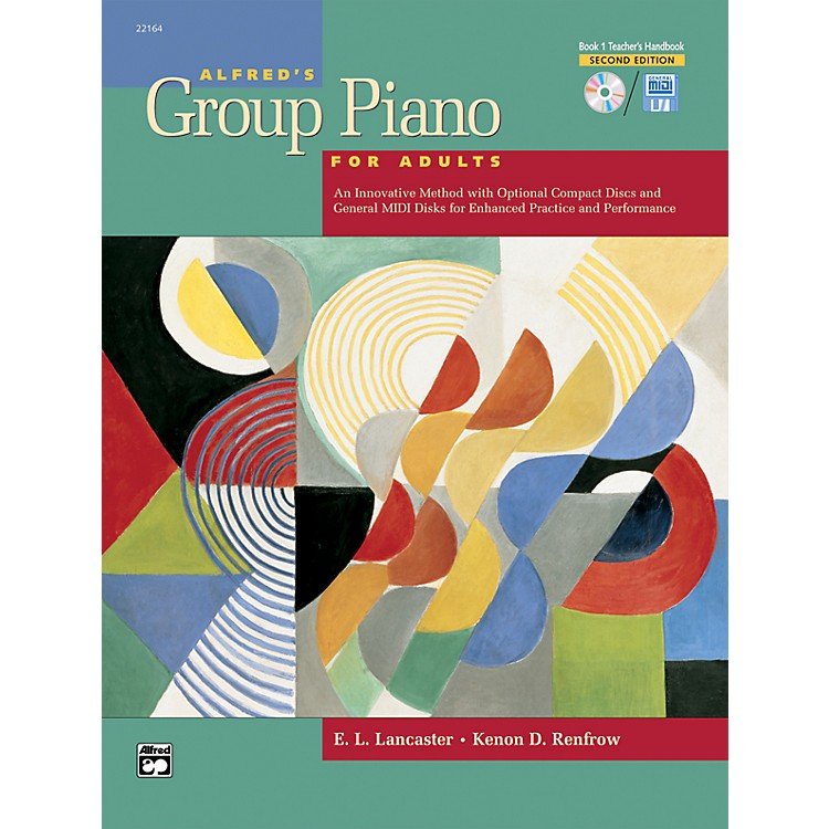 Alfred Alfred's Group Piano for Adults Teacher's Handbook 1 (2nd Edition) Book 1