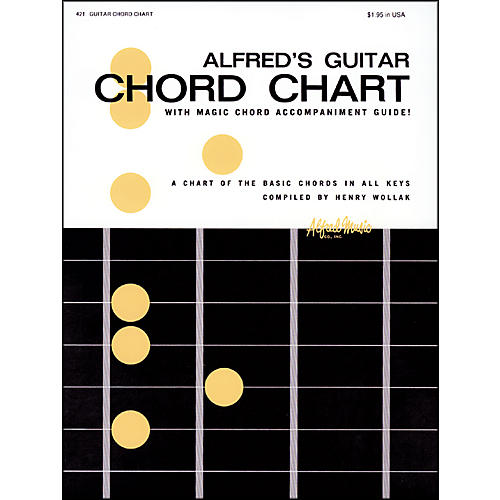 Alfred Alfred's Guitar Chord Chart