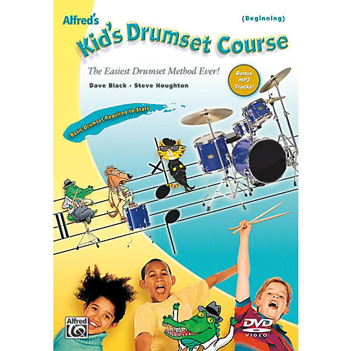 Alfred Alfred's Kid's Drumset Course DVD-thumbnail