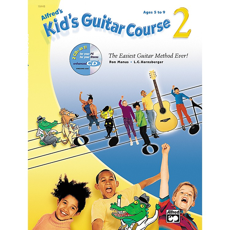 Alfred Alfred's Kid's Guitar Course 2 (Book/CD)
