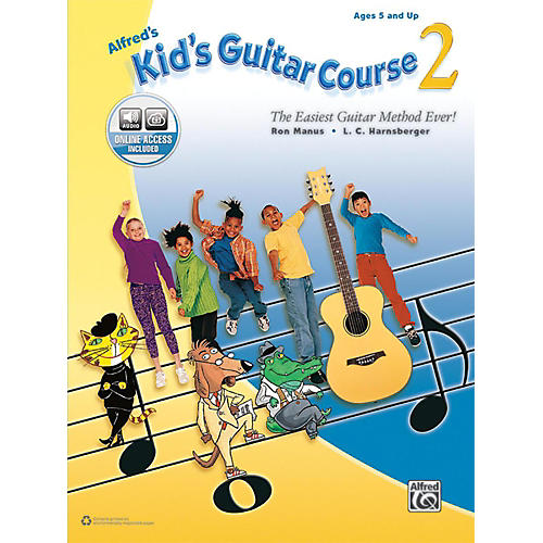 Alfred Alfred's Kid's Guitar Course 2 Book & Online Audio Beginner-thumbnail