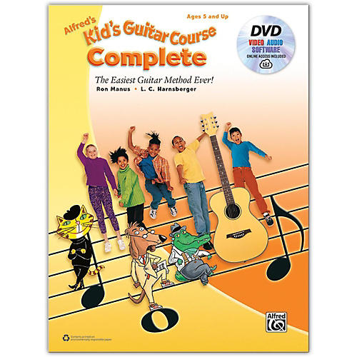 Alfred Alfred's Kid's Guitar Course Complete Book, DVD & Online Audio, Video & Software