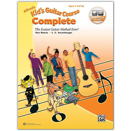 Alfred Alfred's Kid's Guitar Course Complete Book & Online Audio-thumbnail
