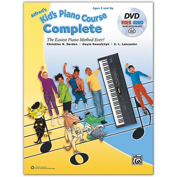AlfredAlfred's Kid's Piano Course Complete Book, CD & DVD