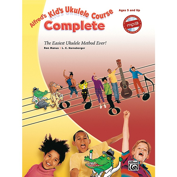 AlfredAlfred's Kid's Ukulele Course Complete Book & CD