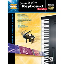 Alfred Alfred's MAX Keyboard Complete Book & DVD in Sleeve