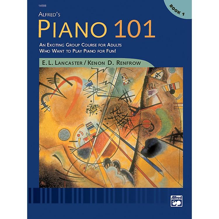 AlfredAlfred's Piano 101 Book 1