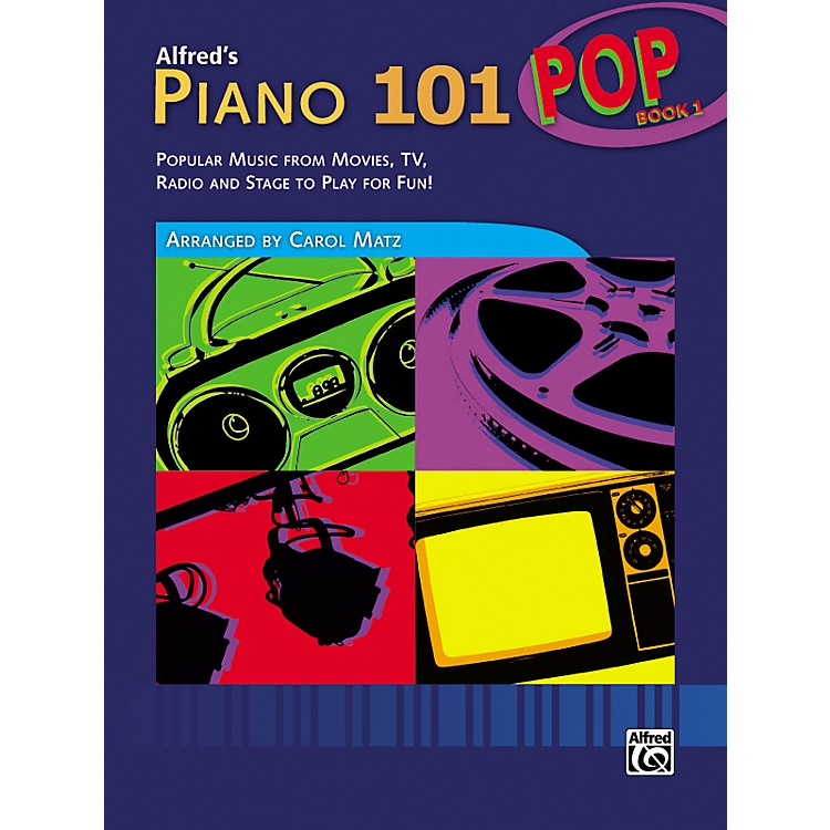 Alfred Alfred's Piano 101 Pop Book 1