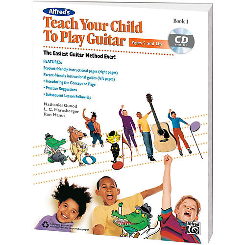 Alfred Alfred's Teach Your Child To Play Guitar Beginner's Kit-thumbnail