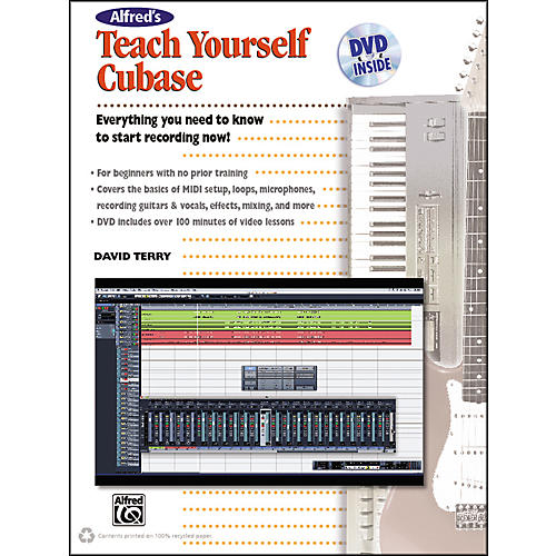 Alfred Alfred's Teach Yourself Cubase Book & DVD-thumbnail