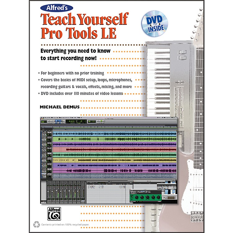 AlfredAlfred's Teach Yourself Pro Tools LE Book & DVD