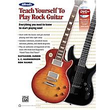 Alfred Alfred's Teach Yourself Rock Guitar Book & DVD