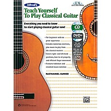 Alfred Alfred's Teach Yourself to Play Classical Guitar Book, CD & DVD