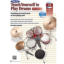 Alfred Alfred's Teach Yourself to Play Drums (2nd Edition) Book CD & DVD