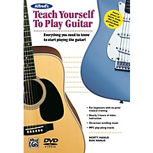 Alfred Alfred's Teach Yourself to Play Guitar Book & DVD