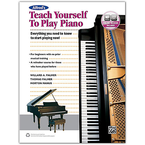 Alfred Alfred's Teach Yourself to Play Piano - Book & Online Audio-thumbnail